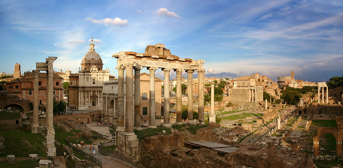 1200px Forum Romanum Rom - ТОП 10 достопримечательностей Рима