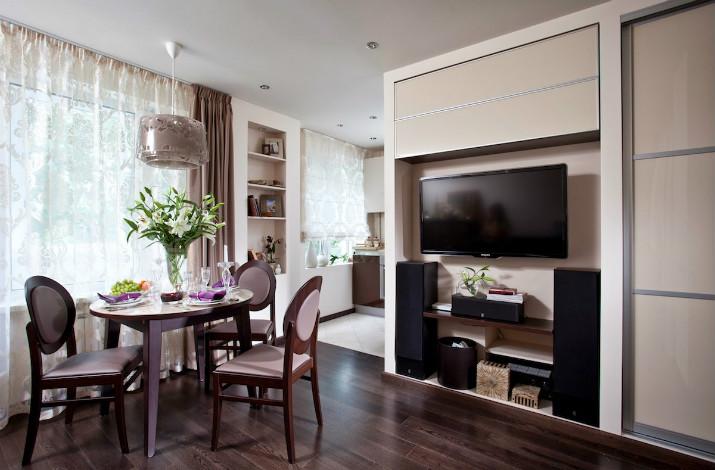 2 - Дизайн интерьера квартиры 33 кв. м.
