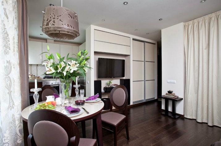 3 1 - Дизайн интерьера квартиры 33 кв. м.