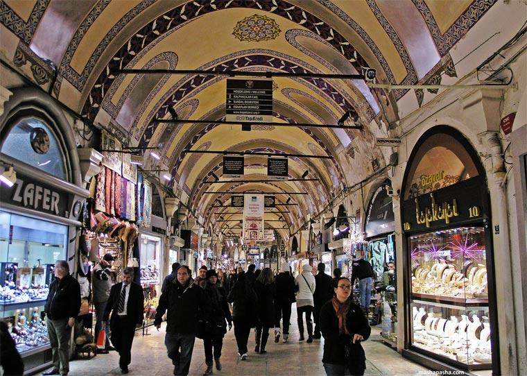 5 grand bazar - ТОП 10 достопримечательностей Стамбула