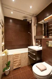 6 1 198x300 - Дизайн интерьера квартиры 33 кв. м.