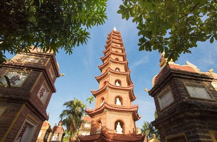 8 pagoda chan - ТОП 10 достопримечательностей Ханоя