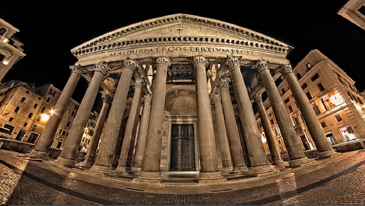 Drevnij yazycheskij hram Panteon - ТОП 10 достопримечательностей Рима