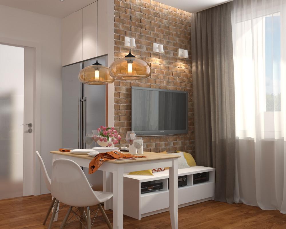dizayn kvartiry 50 m2 2 - Дизайн интерьера квартиры 50 кв м