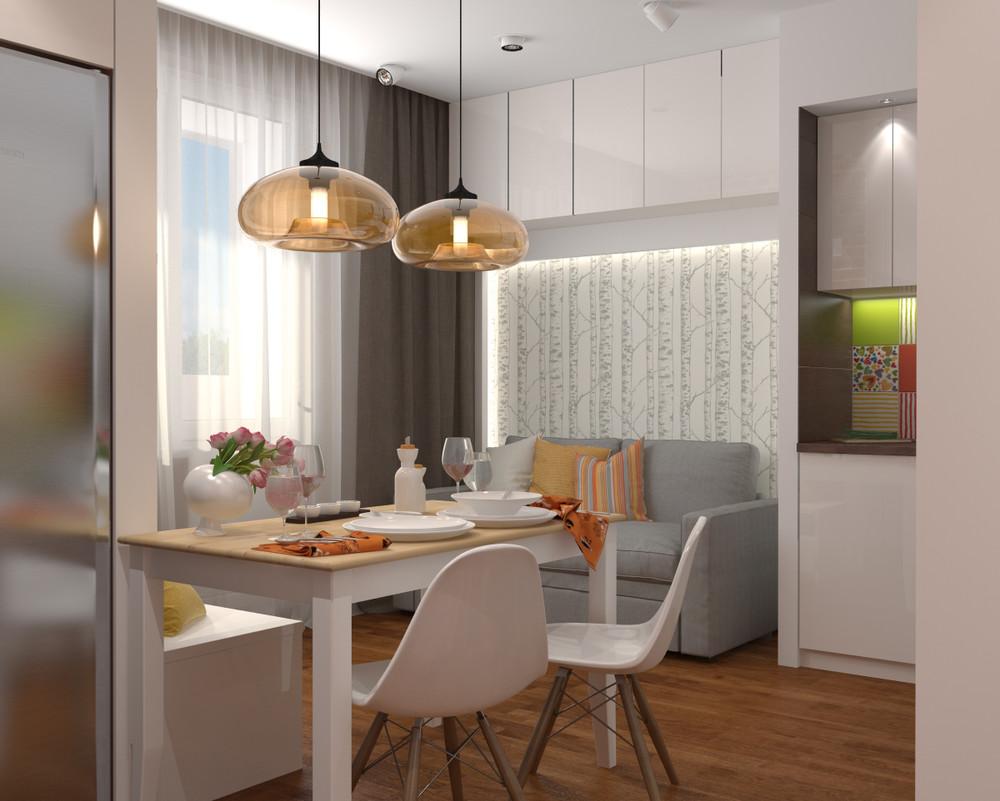 dizayn kvartiry 50 m2 3 - Дизайн интерьера квартиры 50 кв м