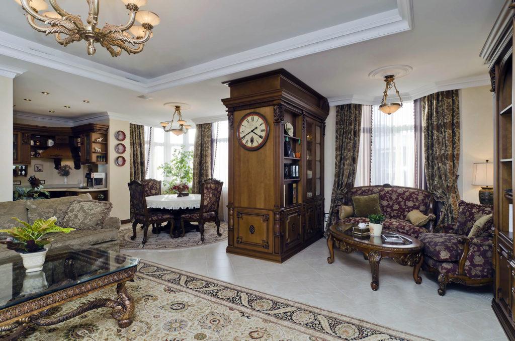 gostinnaya 1024x678 - Американский дизайн интерьера квартиры
