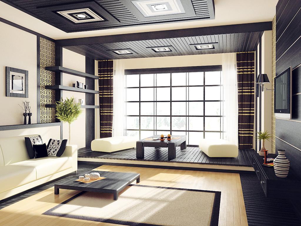 japan - Дизайн интерьера квартиры 25 кв м