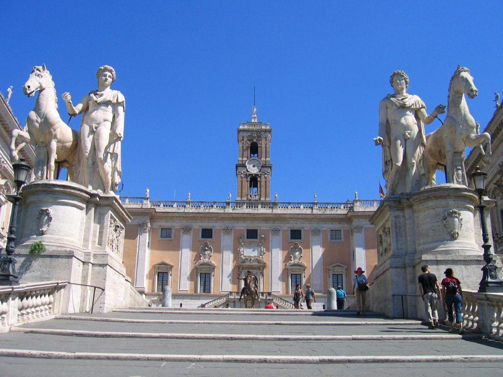 kapitolij1 - ТОП 10 достопримечательностей Рима