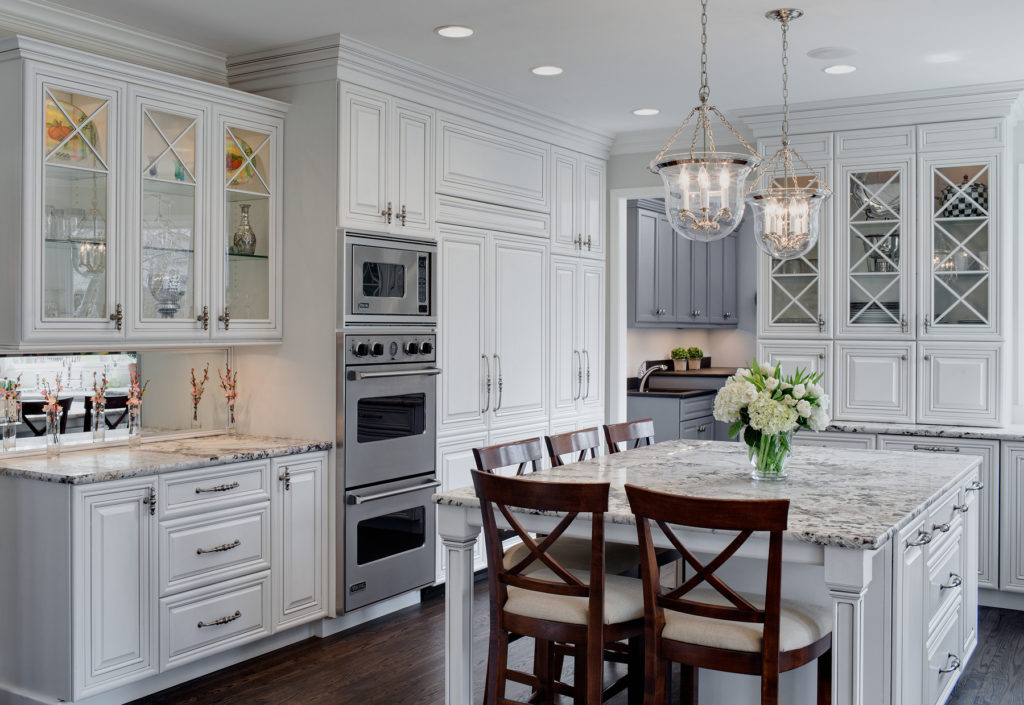 kitchen 1024x705 - Американский дизайн интерьера квартиры