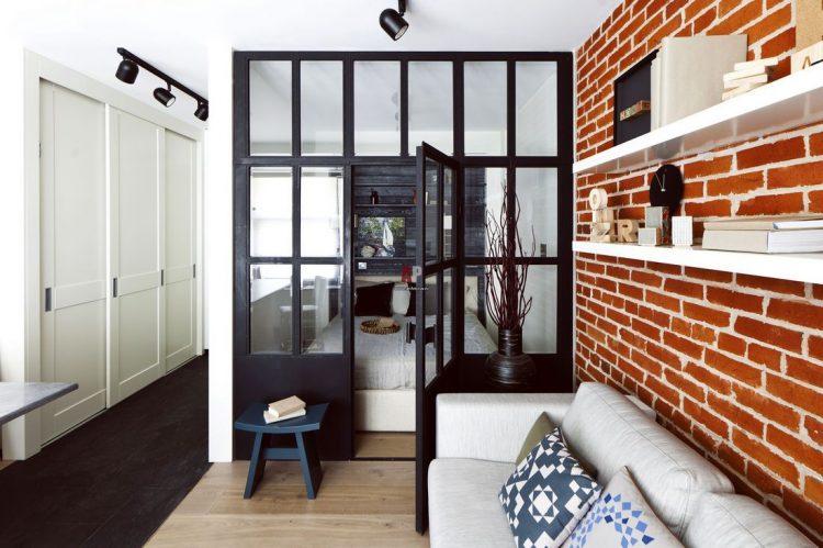 loft2 - Дизайн интерьера квартиры 33 кв. м.