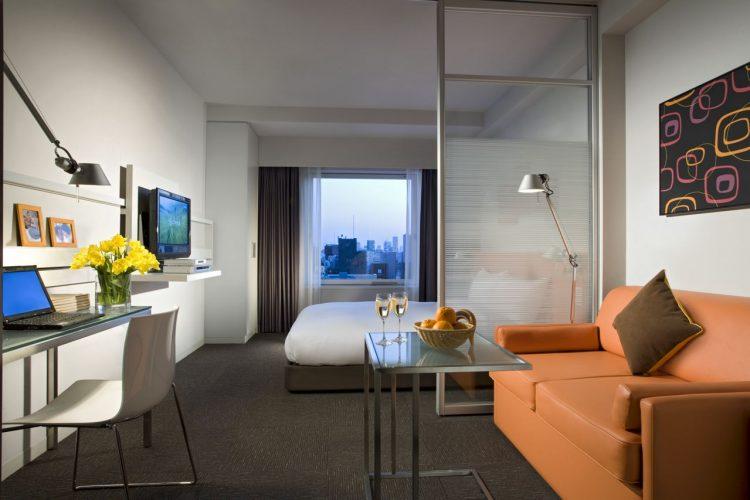 minimalizm - Дизайн интерьера квартиры 33 кв. м.