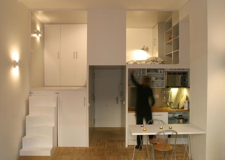 scandinavia - Дизайн интерьера квартиры 33 кв. м.