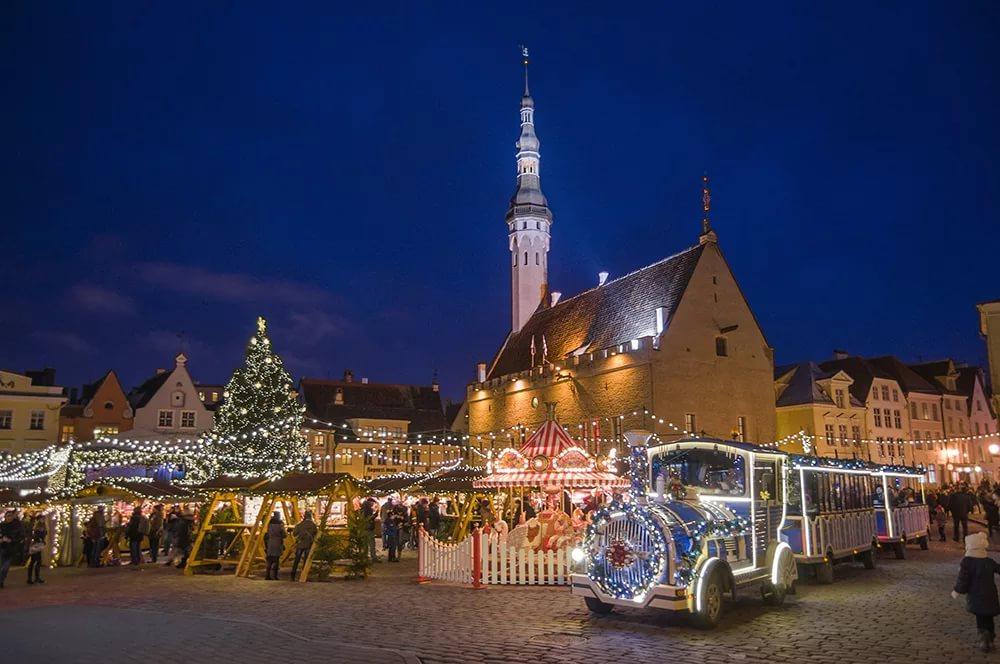 tallin - Куда поехать на Новый год 2017-2018 за границу