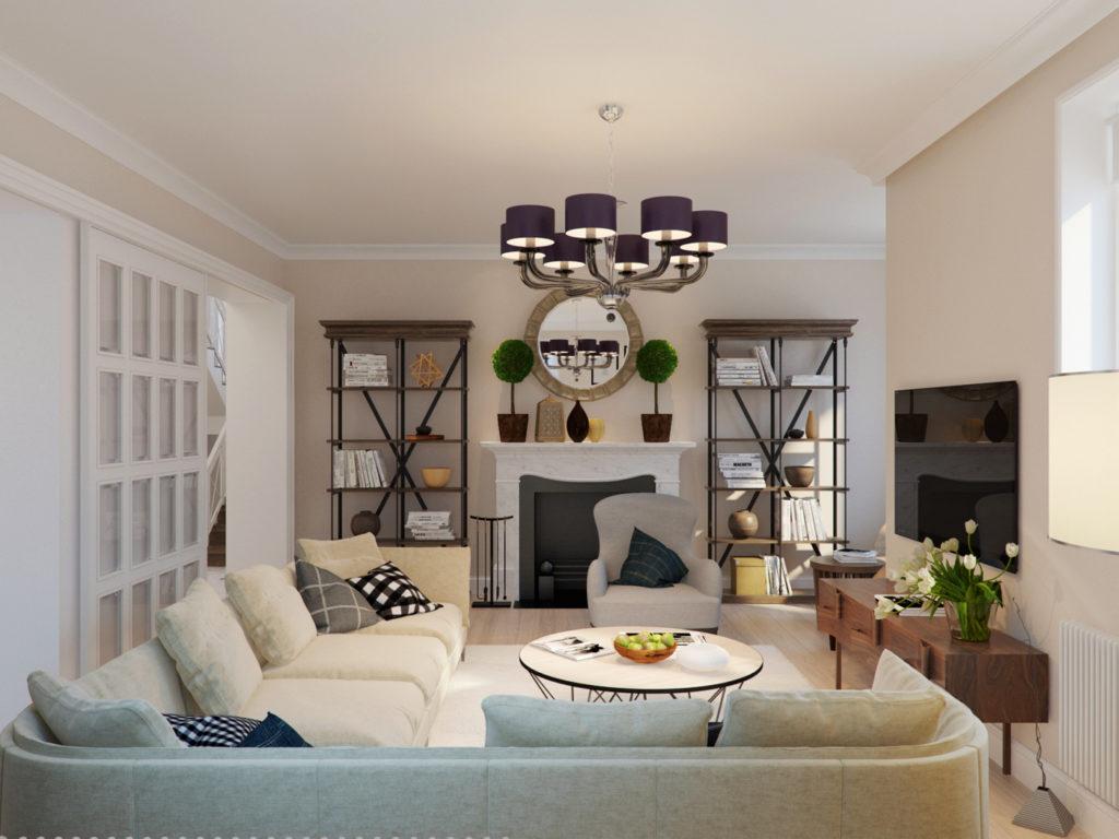 textil2 1024x768 - Американский дизайн интерьера квартиры