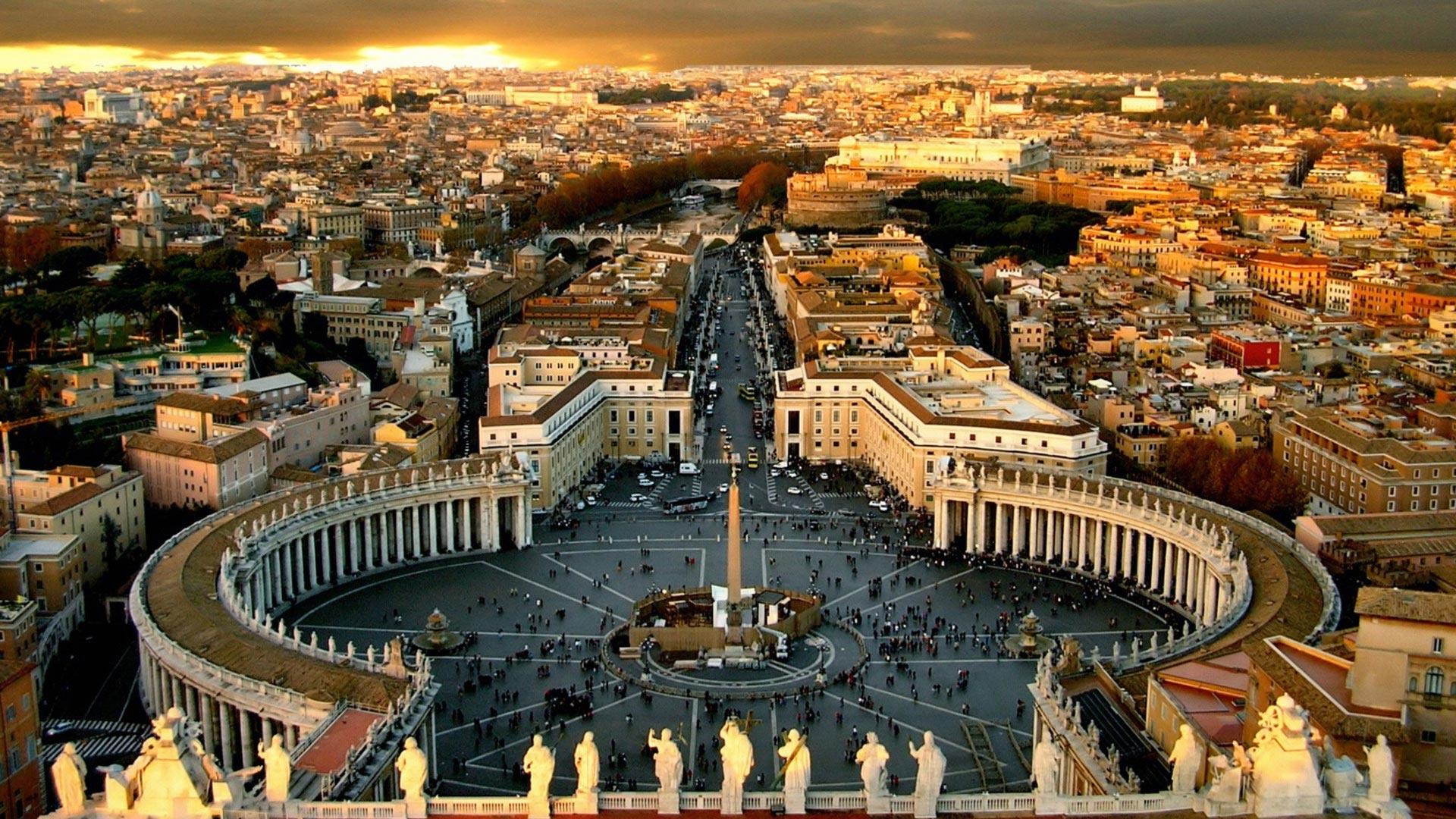 vatikan - ТОП 10 достопримечательностей Рима