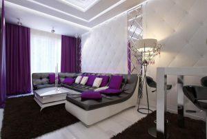 Дизайн интерьера квартиры 75 кв м