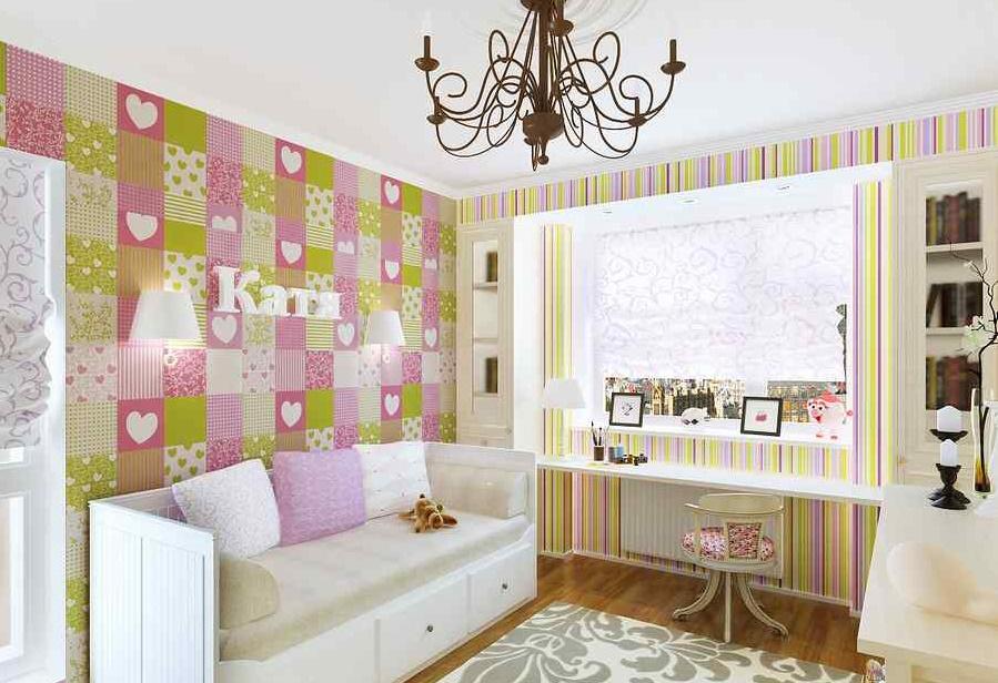 detskaya3 - Дизайн интерьера квартиры 100 кв м