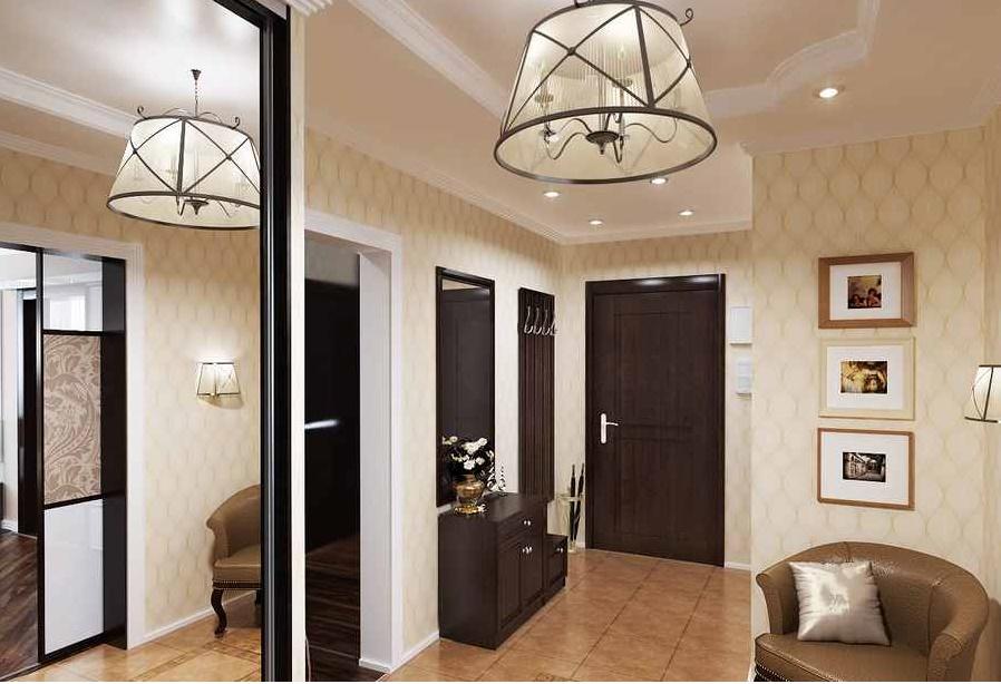 foto real - Дизайн интерьера квартиры 100 кв м