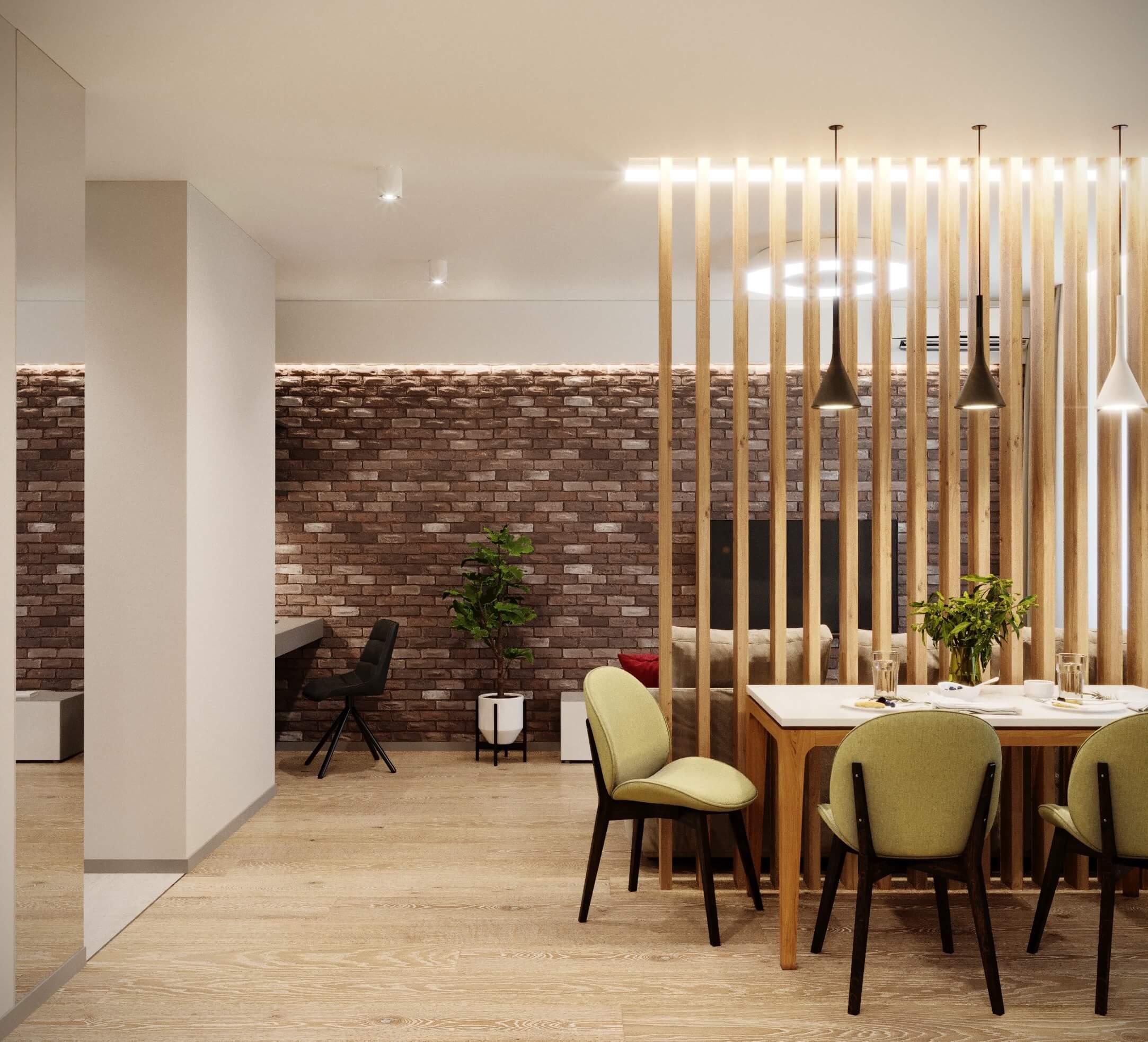 foto realiz - Дизайн интерьера 1-2 комнатной квартиры 45 кв м