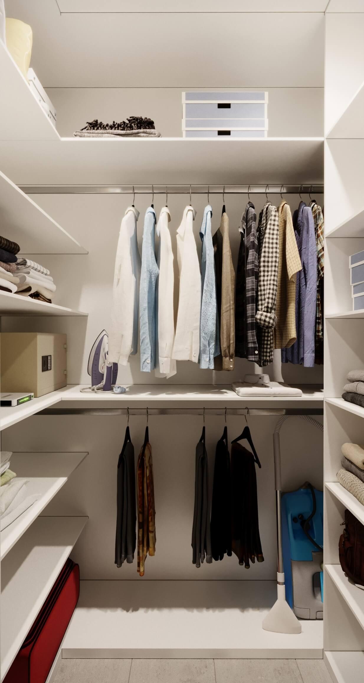 garderob - Дизайн интерьера 1-2 комнатной квартиры 45 кв м