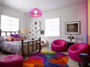 komnata dlya devochki podrostka 048 300x224 - Варианты дизайна интерьера детской комнаты для девочек