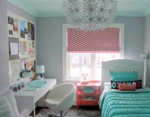 komnata dlya podrostka13 300x235 - Варианты дизайна интерьера детской комнаты для девочек