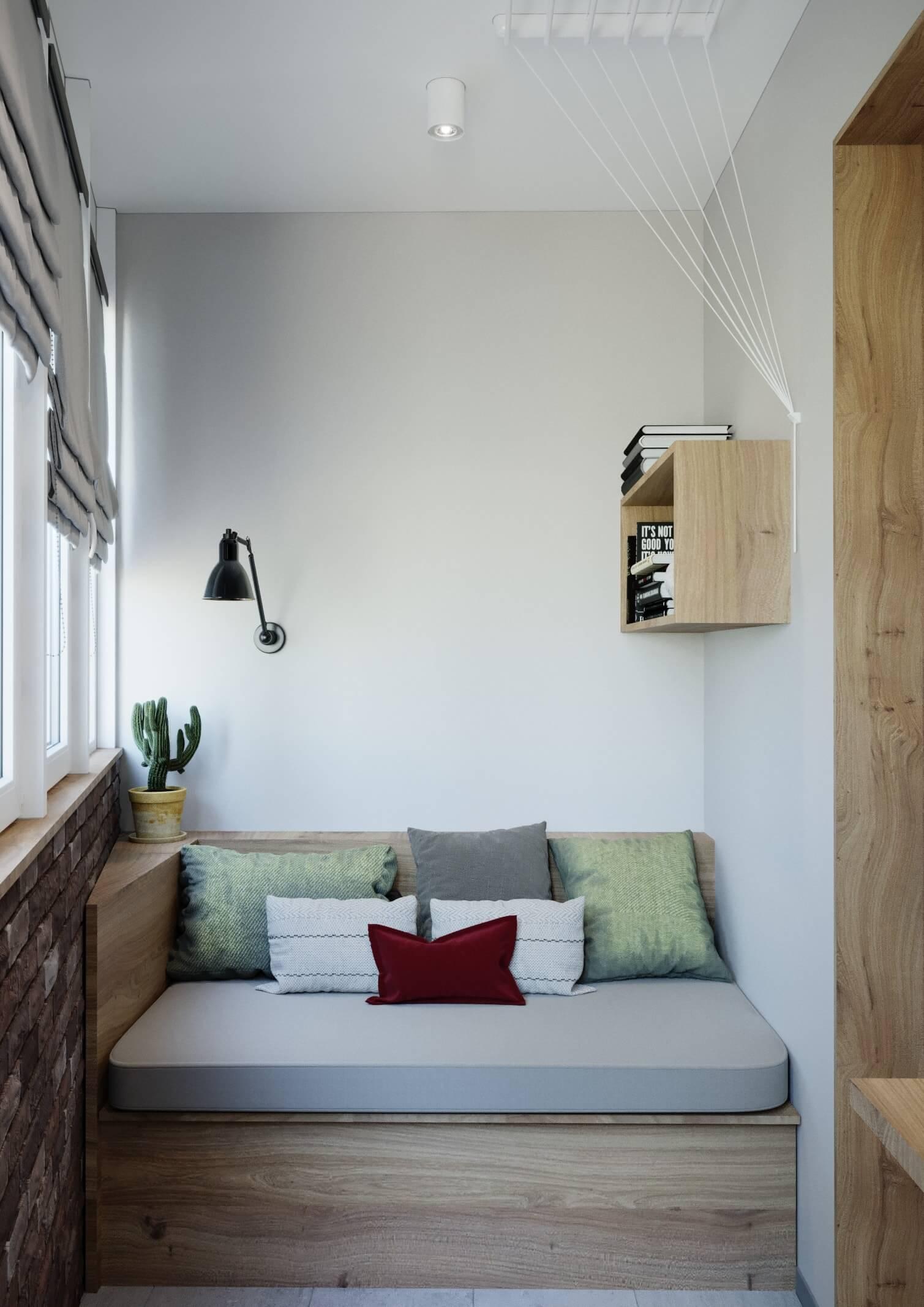 pr - Дизайн интерьера 1-2 комнатной квартиры 45 кв м