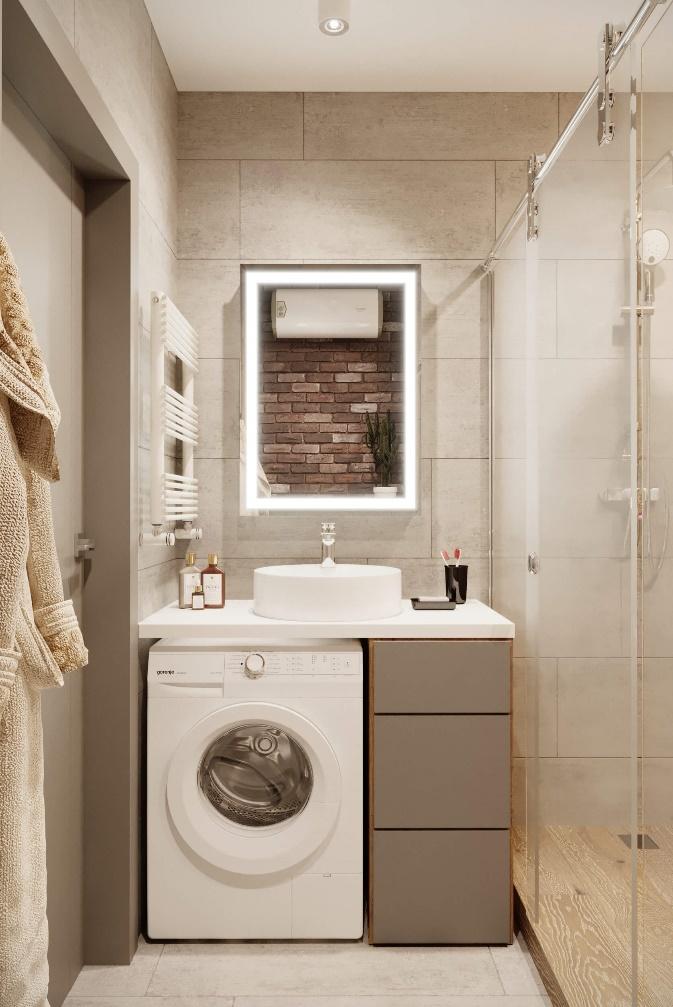 vann - Дизайн интерьера 1-2 комнатной квартиры 45 кв м