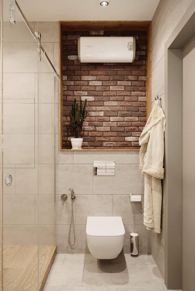 vann2 - Дизайн интерьера 1-2 комнатной квартиры 45 кв м
