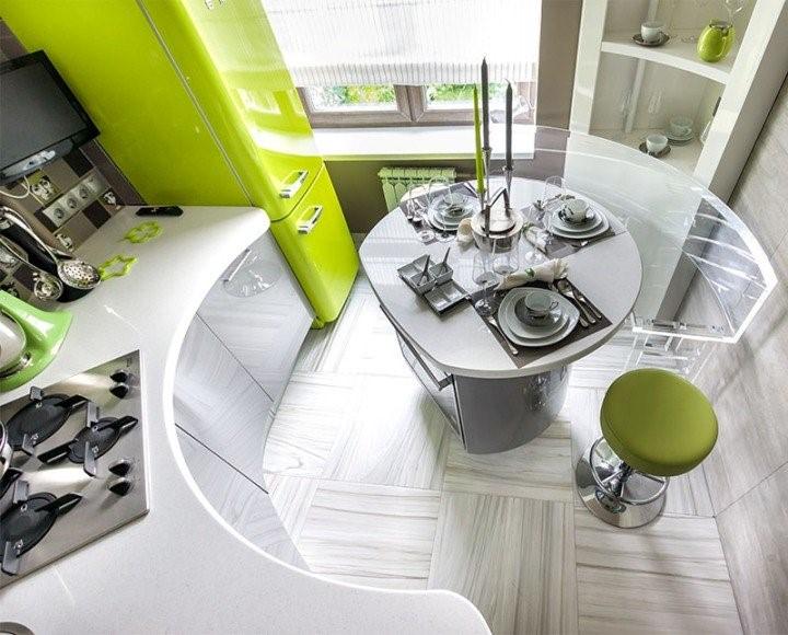 ku1 - Современный дизайн маленькой кухни