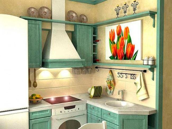 ku2 - Современный дизайн маленькой кухни