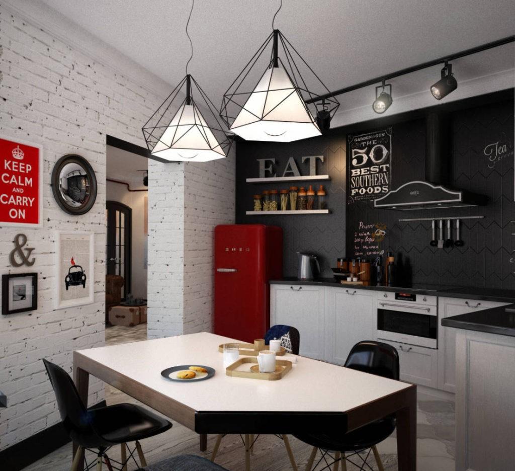 ku5 1 - Современный дизайн маленькой кухни