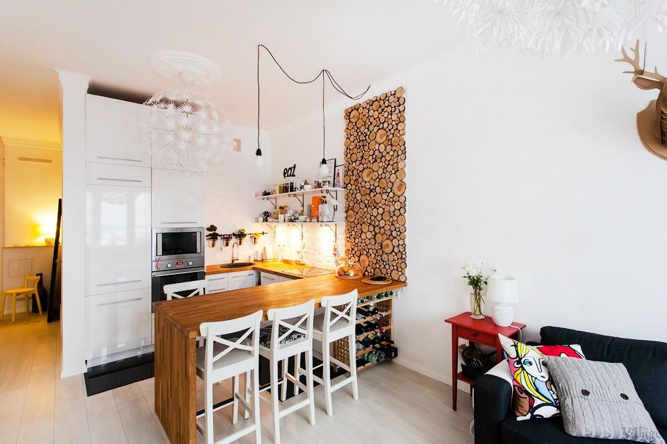 ku6 - Современный дизайн маленькой кухни
