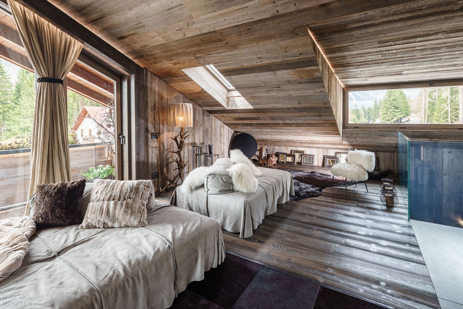 interer doma v stile shale 1 - Особенности интерьера в деревенском стиле