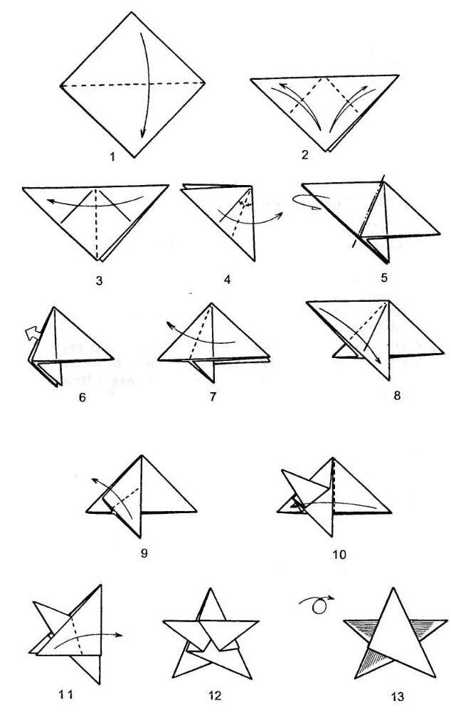 2 1 - Как сделать оригами - схемы и советы