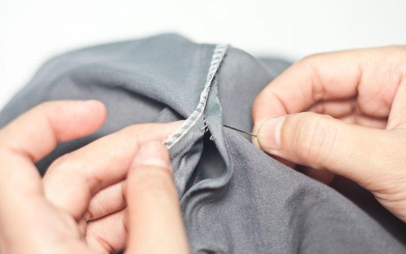 KA9UWg3gK5c - Как красиво заделать дырку на одежде