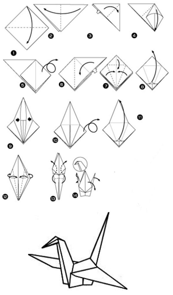 Origami dlya detej 6 7 let shemy 3 - Как сделать оригами - схемы и советы