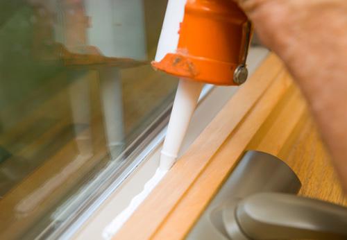 germetik okno - Как заделать швы герметиком, затиркой и серпянкой