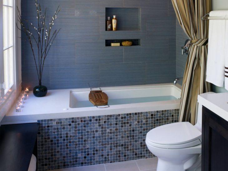 krasivye sovremennye malenkie vannye komnaty1 730x548 - Как красиво заделать края и низ ванной?