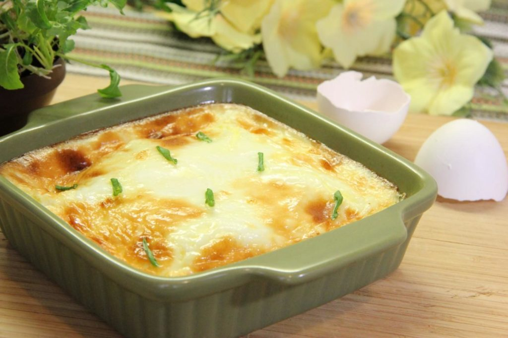 omlet v duxovke 1525598152 9 max 1024x682 - Как приготовить вкусный омлет на сковороде и в духовке