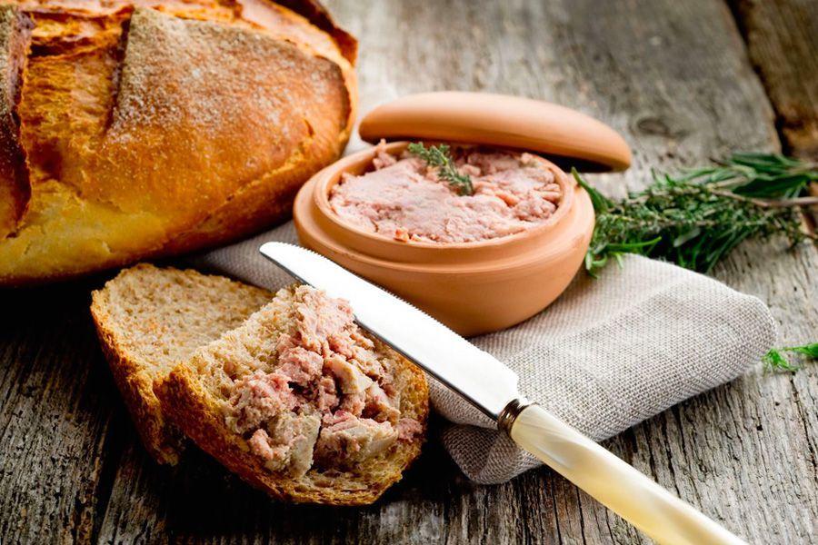s suhofruktami - Как приготовить домашний паштет