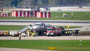 Катастрофа в шереметьевском аэропорту