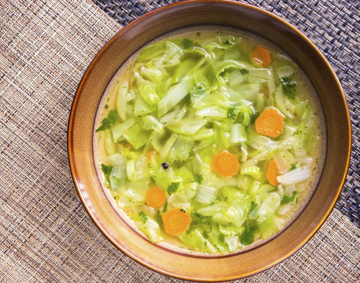 Суп для похудения капуста лук помидоры