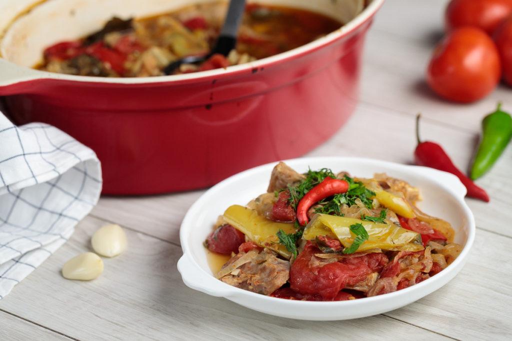 hashlama 1 1024x683 - Как вкусно приготовить баранину